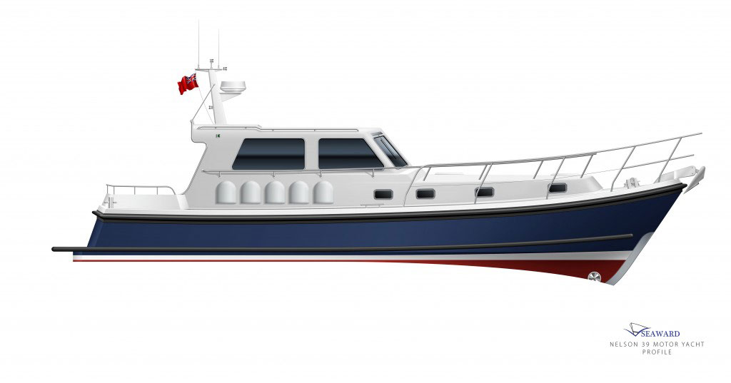 The all-new Seaward Nelson 39 E16, will make its debut at the Southampton Boat Show