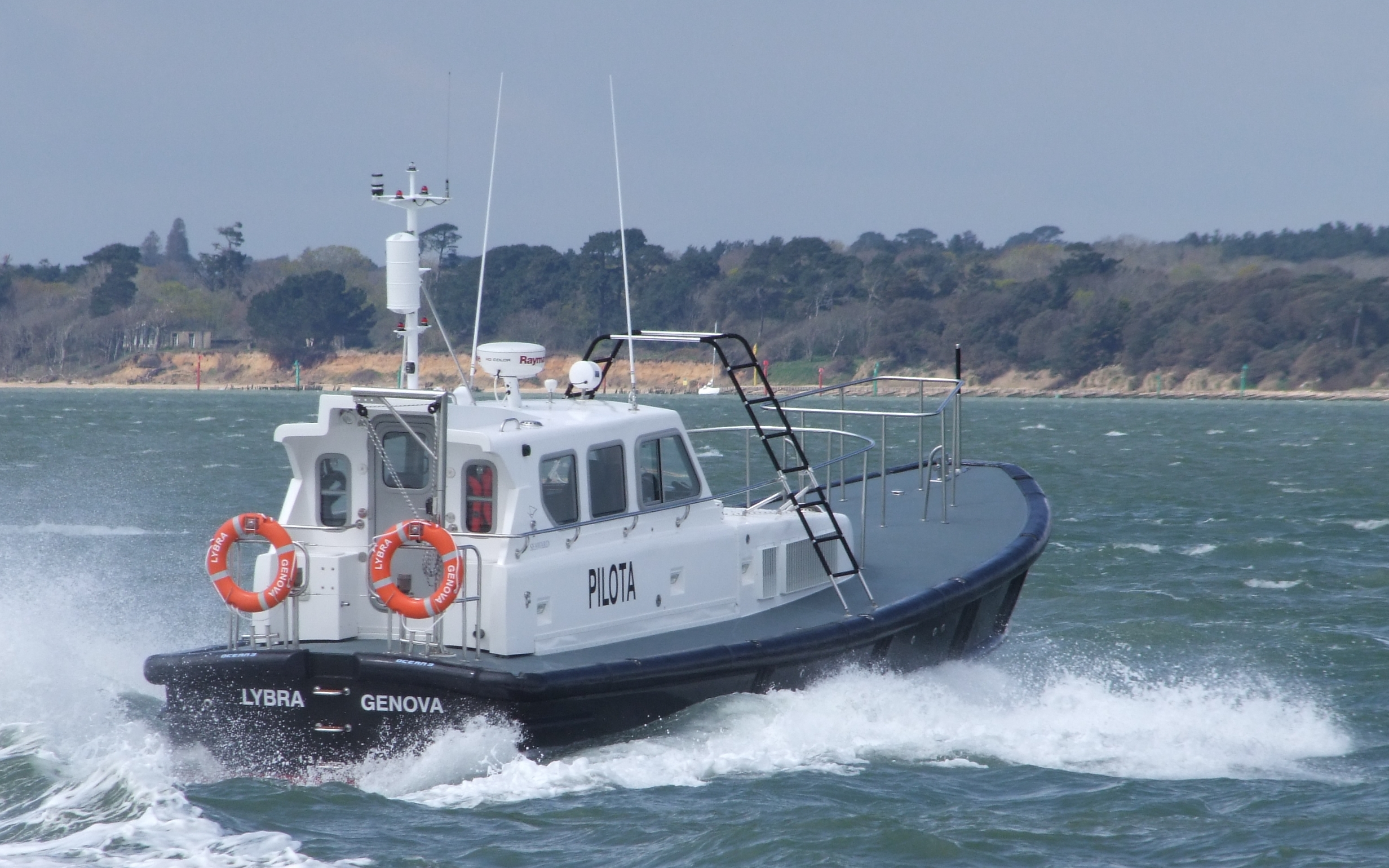 Seaward Nelson 40 Pilot Boat