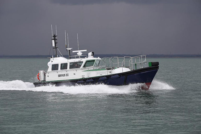 Seaward Nelson 42 Pilot Boats and Service Launches