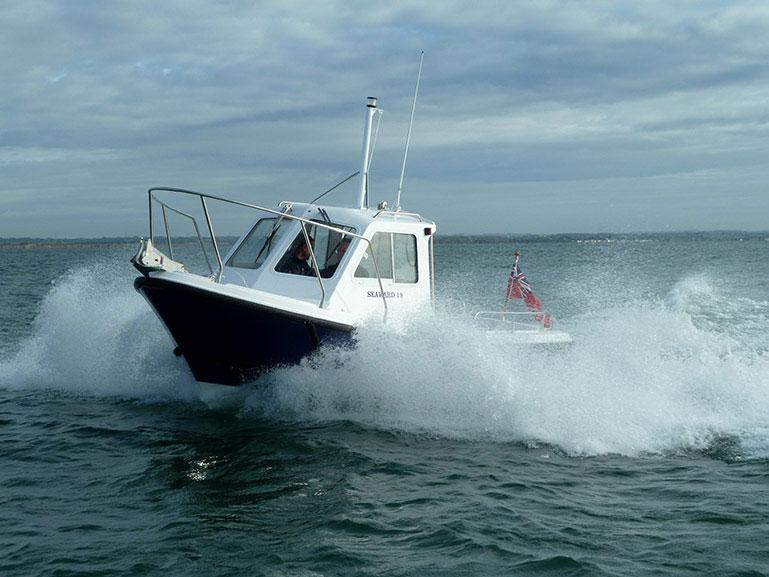 Seaward 19 at Seawork 2013