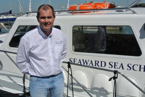 Stephen Thomas, new Managing Director of The Boat Development Co, builders of Seaward Boats.